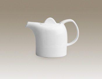 قوری قهوه 2 فنجان هتلی سفید زرین